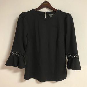 The Limited Open Detail Bell Sleeve Top